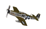 "USAAF North American P-51D Mustang Fighter - 44 13761, Capt Jack M Ilfrey, ""Happy Jacks Go Buggy"", 79th Fighter Squadron, 20th Fighter Group, Kings Cliffe, England, 1944"
