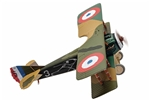 "French SPAD XIII Fighter - ""White 3"", Marechal-des-logis Pierre Marinovitch, Escadrille Spa 94 ""The Reapers"", Villeneuve-les-Vertus, France, 1918"
