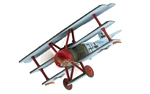 German Fokker Dr.1 Triplane Fighter - 155/17, Lt. Eberhard Mohnicke, Jasta 11, von Richthofen's Flying Circus, Lechelle, France, 1918