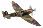 "RAF Supermarine Spitfire Mk. Ia Fighter - ""QV"", RAF No.19 Squadron, Dunkirk Evacuation, May 1940"
