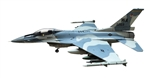 USAF General Dynamics F-16C Fighting Falcon Fighter - 64th Aggressor Squadron, 57th Adversary Tactics Group, Nellis AFB, Nevada [Aggressor Scheme]