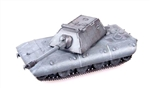 German E-100 Heavy Tank with Krupp Turret and 128mm Gun Field Grey 1946