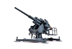 German Flak40 128mm Zwillingsflak Anti-Aircraft Gun with Bettung 40 Platform - 1942