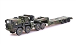 German MAN KAT1M1014 8x8 HIGH-Mobility Off-Road Truck with M870A1 Semi-Trailer