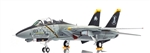 "US Navy Grumman F-14B Tomcat Fleet Defense Fighter - VF-103 ""Jolly Rogers"", Last Flight"