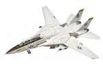"US Navy Grumman F-14A Tomcat Fleet Defense Fighter - VF-142 ""Ghostriders"" [Weathered Version]"