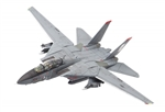 "US Navy Grumman F-14A Tomcat Fleet Defense Fighter - VF-41 ""Black Aces"" [Weathered Version]"