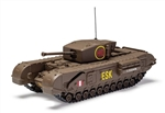 British Churchill Mk. III Infantry Tank - 6th Scots Guards Tank Brigade, Italy, 1943