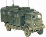 British Bedford QLT Command and Signal Truck - 21st Army Group, NW Europe, 1945