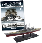 German Reichsmarine Scharnhorst Class Battleship - DKM Gneisenau [With Collector Magazine]