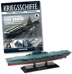 US Navy Essex Class Aircraft Carrier - USS Essex (CV-9) [With Collector Magazine]