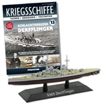 German Kaiserliche Marine Derfflinger Class Battlecruiser - SMS Derfflinger [With Collector Magazine]