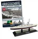 German Kaiserliche Marine Koenig Class Battleship - SMS Koenig [With Collector Magazine]