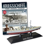 German Kaiserliche Marine Blucher Class Armored Cruiser - SMS Blucher [With Collector Magazine]