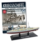 German Kaiserliche Marine Moltke Class Battlecrusier - SMS Goeben [With Collector Magazine]