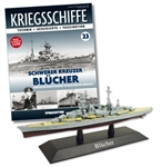 German Kriegsmarine Admiral Hipper Class Heavy Cruiser - DKM Blucher