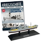 German Kriegsmarine Auxiliary Cruiser Atlantis [With Collector Magazine]