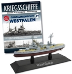German Kaiserliche Marine Nassau Class Battleship - SMS Westfalen [With Collector Magazine]