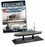 German Kaiserliche Marine Scharnhorst Class Armored Cruiser - SMS Scharnhorst [With Collector Magazine]