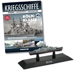 German Bundesmarine Bremen Class Frigate - Koln [With Collector Magazine]