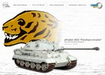 Limited Edition German Sd. Kfz. 182 PzKpfw VI King Tiger Ausf. A Heavy Tank - Anneliese, schwere Panzer Abteilung 503 Feldherrnhalle, Szrakerestes, Hungary, January 1945
