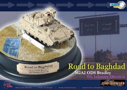 Limited Edition US M2A2 ODS Bradley Infantry Fighting Vehicle - Road to Baghdad, 4th Infantry Division [Mech], Baghdad, 2004