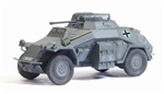 German Sd. Kfz. 222 Light Armored Car - Unidentified Unit, France, 1940