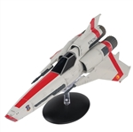 Battlestar Galactica Colonial Viper Mark II Fighter - Starbuck, 2004 Series [With Collector Magazine]