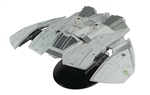 "Eaglemoss Battlestar Galactica - ""Blood and Chrome"" Cylon Raider [With Collector Magazine]"