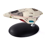 Star Trek Federation Delta Flyer [With Collector Magazine]