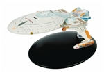 Star Trek Federation Yeager Class Starship - USS Yeager NCC-65674 [With Collector Magazine]