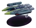 Star Trek Vaadwaur Assault Fighter [With Collector Magazine]