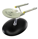 Star Trek Federation Constitution Class Starship - Day-Glow USS Defiant NCC-1764 [With Collector Magazine]