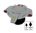 Star Trek Federation Defiant Class Starship - USS Defiant NX-74205 [With Collector Magazine] (Large Scale)