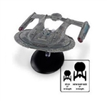 Star Trek Federation Akira Class Starship - USS Thunderchild NCC-63549 [With Collector Magazine] (Large Scale)