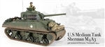 Radio Controlled US M4A3 Sherman Medium Tank - 3rd Armored Division, Normandy, France, 1944
