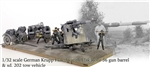 German 88mm Flak 36 Anti-Aircraft Gun with FLaK Rohr 36 Gun Barrel and Sd. 202 Towing Vehicle - 305.Infanterie Division, Stalingrad, 1942 (1:32 Scale)