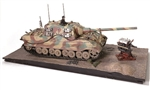 German Sd. Kfz. 186 Jagdpanzer VI Jagdtiger Heavy Tank Destroyer with Porsche Suspension
