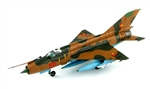 "East German Mikoyan-Gurevich MiG-21MF ""Fishbed"" Fighter - Jagdfliegergeschwader 1, East Germany"