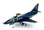 USN McDonnell Douglas A-4F Skyhawk Attack Aircraft - The Blue Angels