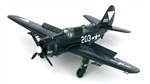 USN Curtiss SB2C-4E Helldiver ASW Aircraft - VB-87, USS Ticonderoga (CV-14), May 1945