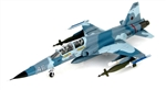 "US Navy Northrop F-5F Tiger II Fighter - ""White 46"", 1977 [Aggressor Scheme]"