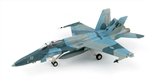 US Navy Boeing F/A-18A Hornet Strike Fighter - 162875, NSAWC 55, 2004-2006 [Aggressor Scheme]