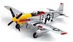 USAAF North American P-51D Mustang Fighter - Detroit Miss, Ft. Lieutenant Urban Drew, 361st Fighter Group, France, 1944 [Signature Edition]