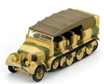 German Sd. Kfz. 7 8-Ton Personnel Carrier / Prime Mover - Luftwaffe Anti-Aircraft Battery