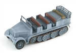 German Sd. Kfz. 7 8-Ton Personnel Carrier / Prime Mover - Winter Camouflage