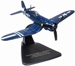 USMC Chance-Vought F4U-1D Corsair Fighter - VMF-512, USS Gilbert Islands (CVE-107), 1945