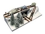 Eastern Front Winter Diorama
