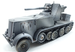 German Sd. Kfz.8 DB9 with FLak 18 88mm Anti-Aircraft Gun - Winter Camouflage