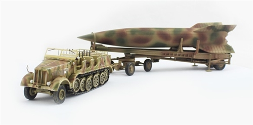 WWII GERMANY V2 Rocket Finished 1//72 Model PMA non Diecast